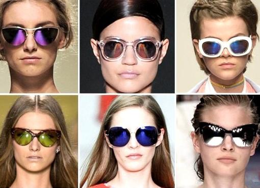 Солнечные очки большие фото